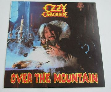 "OZZY OSBOURNE Over The Mountain 1981 UK 7"" P/S HEAVY METAL MINT AUDIO"